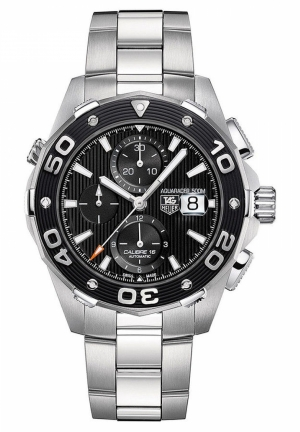 Men's Automatic Chronograph Aquaracer Stainless Steel Expandable Bracelet 44mm CAJ2110.BA0872