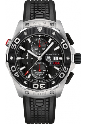 Aquaracer 500 M Calibre 16 Automatic Chronograph 44 mm CAJ2111.FT6036
