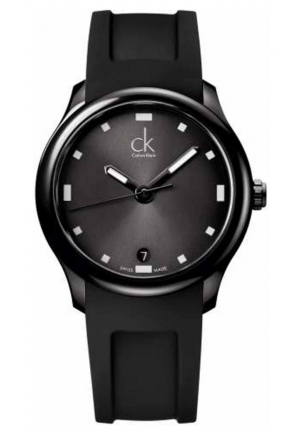 CALVIN KLEIN Calvin Klein Rubber Strap Men's Watch 41mm