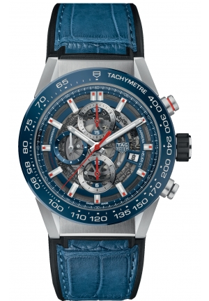 TAG HEUER CARRERA 100 M CAR201T.FC6406, 43MM