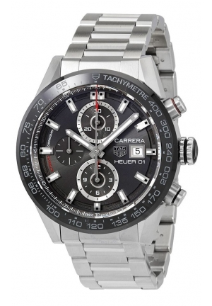 CARRERA CHRONOGRAPH AUTOMATIC MEN'S WATCH CAR201W.BA0714, 43MM