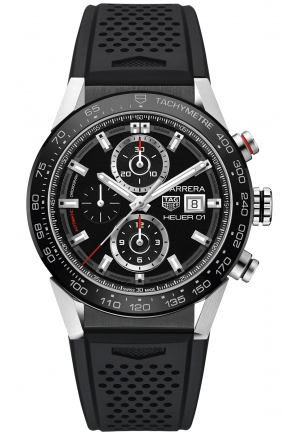 CARRERA CHRONOGRAPH AUTOMATIC MEN'S WATCH CAR201Z.FT6046, 43MM