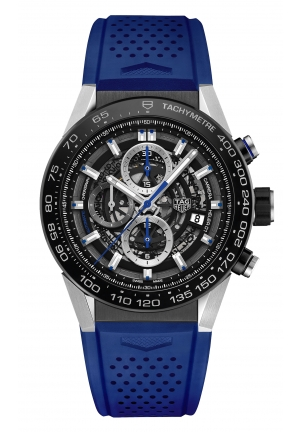 CARRERA CHRONOGRAPH AUTOMATIC MEN'S WATCH CAR2A1T.FT6052, 45MM