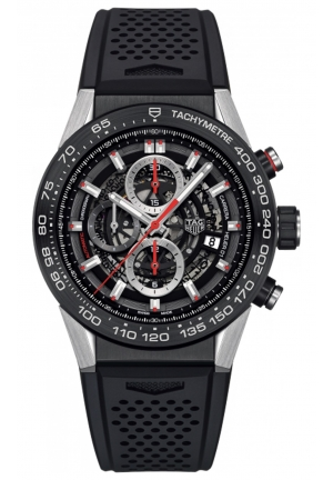 TAG HEUER CALIBRE HEUER 01 AUTOMATIC CHRONOGRAPH 45 MM