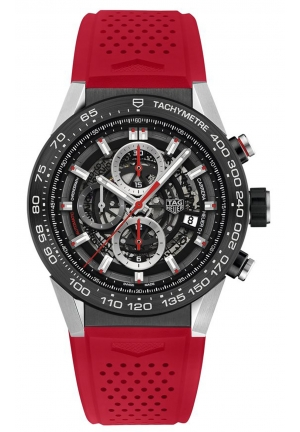 CARRERA CHRONOGRAPH AUTOMATIC MEN'S WATCH CAR2A1Z.FT6050, 45MM