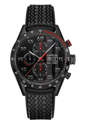 TAG HEUER CARRERA Calibre 1887 Automatic Chronograph Monaco Grand prix 43 mm CAR2A83.FT6033