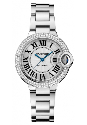 CARTIER Ballon Bleu de Cartier watch, Automatic WE902035 33 mm