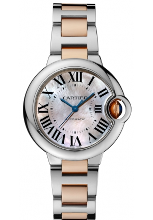 CARTIER Ballon Bleu de Cartier watch, Automatic 33 mm