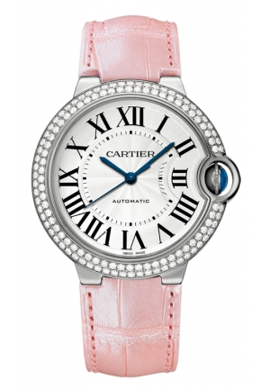 CARTIER Ballon Bleu de Cartier watch, Automatic WE900651 36 mm