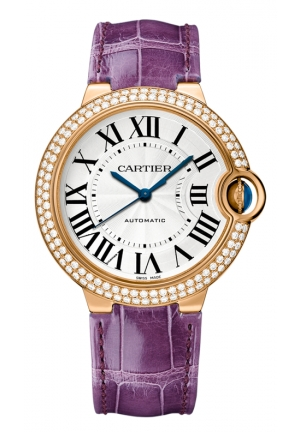 CARTIER Ballon Bleu de Cartier watch, Automatic WJBB0009 36.5 mm