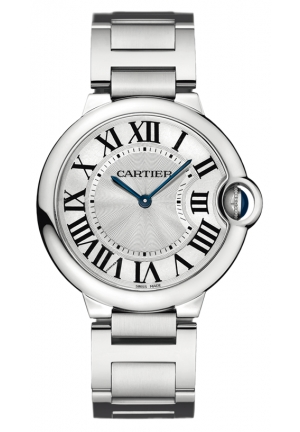 CARTIER Ballon Bleu de Cartier watch, medium model Quartz 36.6 mm