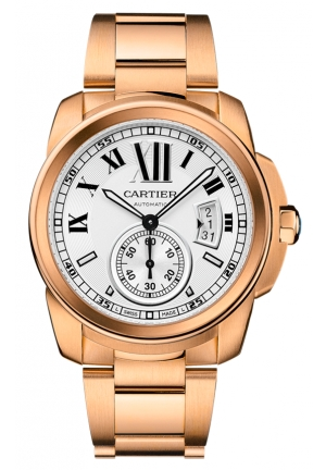 CARTIER Calibre de Cartier watch Automatic W7100018 42 mm