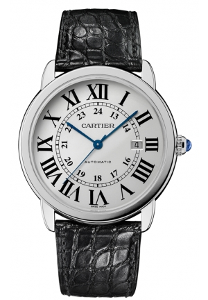 CARTIER Ronde Solo de Cartier watch, extra-large model Automatic W6701010 42 mm
