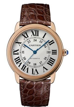 CARTIER Ronde Solo de Cartier watch, extra-large model Automatic 42 mm