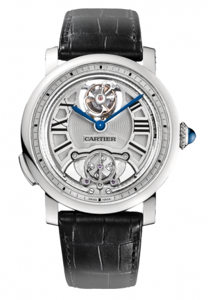 CARTIER Rotonde de Cartier Minute Repeater Flying Tourbillon Mens Watch 39.7mm