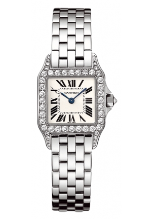 CARTIER Santos Demoiselle watch, small model Quartz WF9007Z8 28.25x21.65 mm
