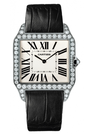 CARTIER Santos-Dumont watch, large model Manual WH100651 44.488x34.6 mm