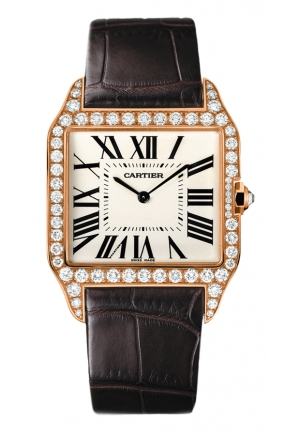 CARTIER Santos-Dumont watch, large model Manual 44.488x34.6 mm