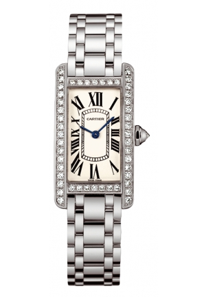 CARTIER Tank Américaine watch, small model Quartz 18.6mm x 34.8mm