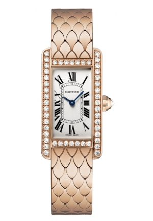 CARTIER Tank Américaine watch, small model Quartz 19 x 34.8 mm