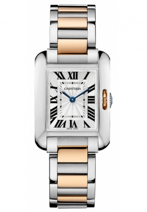 CARTIER Tank Anglaise watch W5310036 30.2 mm x 22.7 mm