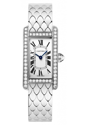 CARTIER Tank Anglaise watch, large model Automatic WB710009 47 mm x 36.2 mm