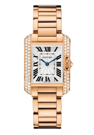 CARTIER Tank Anglaise watch, small model Quartz 30.2 x 22.7 mm