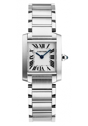 CARTIER Tank Française watch, small model Quartz W51011Q3 31 x 25 mm