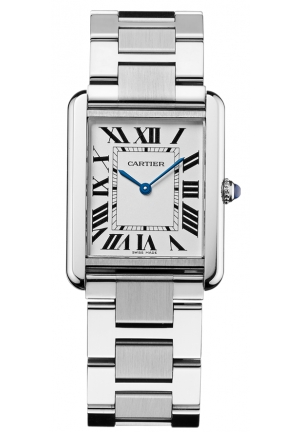 CARTIER Tank solo watch, large model Quartz 34.8x27.4 mm