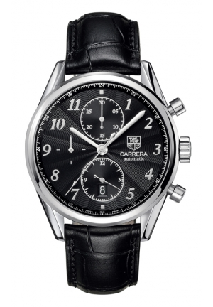 TAG HEUER CARRERA Calibre 16 Heritage Automatic Chronograph 41 mm CAS2110.FC6266