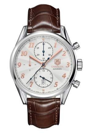 TAG HEUER CARRERA Calibre 16 Heritage Automatic Chronograph 41 mm CAS2112.FC6291