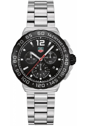 TAG HEUER Formula 1 Chronograph Watch 42mm CAU1110.BA0858