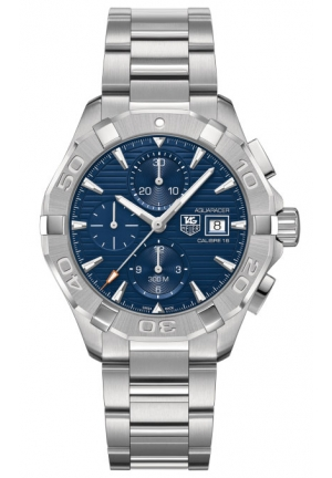 TAG HEUER Aquaracer 300M Calibre 16 Automatic Chronograph 43MM CAY2112.BA0925