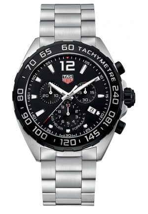 FORMULA 1 CHRONOGRAPH BLACK DIAL MEN'S WATCH CAZ1010.BA0842, 43MM