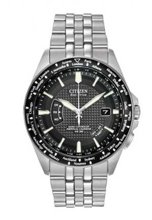 Citizen Men's World Perpetual A-T Stainless Steel Watch