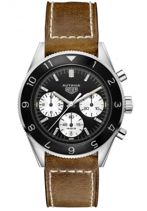 TAG HEUER HERITAGE AUTAVIA AUTOMATIC CHRONOGRAPH CALIBRE HEUER 02, 42MM