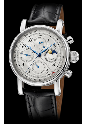 SIRIUS CHRONOGRAPH MOON PHASE CH-7543L/1112, 42MM