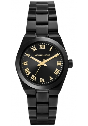 Channing Black-Tone Stainless Steel Watch