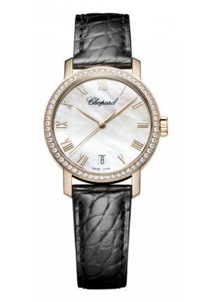 CHOPARD Classic 18-karat rose gold 33.50mm