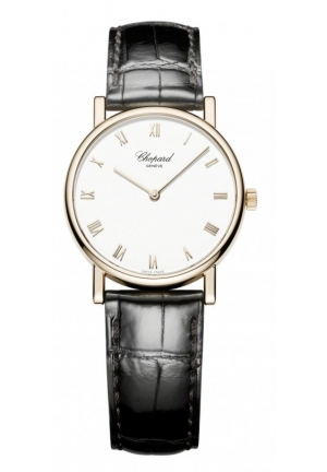 CHOPARD Classic 18-karat rose gold 33.60mm