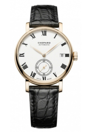 CHOPARD Classic Manufacture 18-karat rose gold 38mm