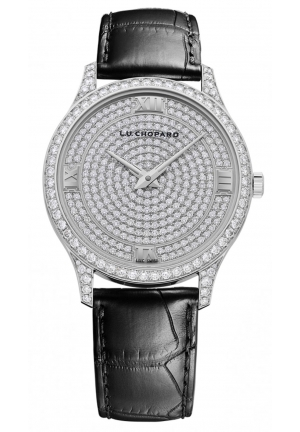 CHOPARD L.U.C XP 18k white gold and diamonds 40mm