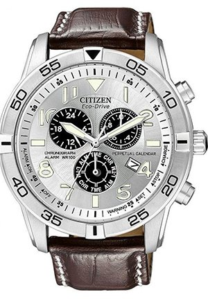 Citizen Watches - (Silver Tone Stainless Steel) - Jewelry 43mm