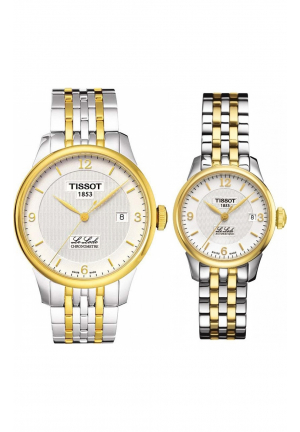 COUPLE TISSOT TWO TONE T0064082203700 - T41218334