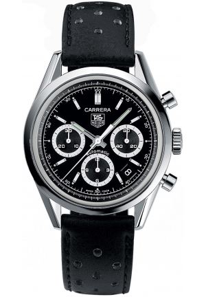 CARRERA AUTOMATIC CHRONOGRAPH MENS WATCH 39MM