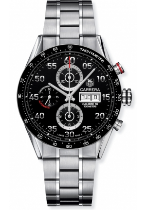 Men's Carrera Automatic Chronograph Watch 43.5mm CV2A10.BA0796