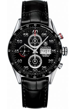 Carrera Calibre 16 Day Date Automatic Chronograph 43mm CV2A10.FC6235