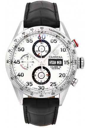 Carrera Calibre 16 Day Date Automatic Chronograph 43mm CV2A11