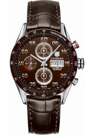 Carrera Calibre 16 Day Date Automatic Chronograph 43mm CV2A12.FC6236