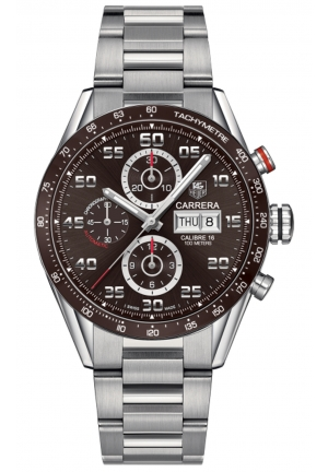 CARRERA STAINLESS STEEL MEN'S WATCH CV2A1S.BA0799, 43MM